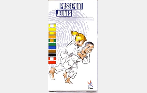 passeport Judo enfant