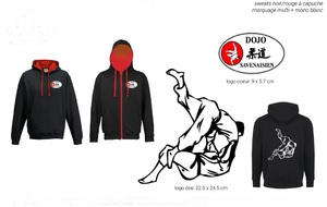 Sweat Shirt - ZIPPE - DOJO SAVENAISIEN